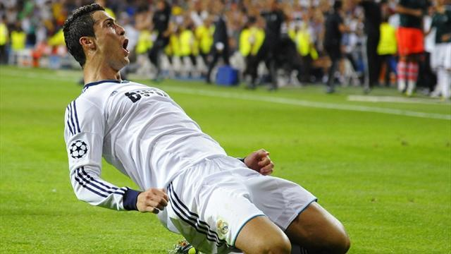 Football - Ronaldo's an example to Bale - AVB