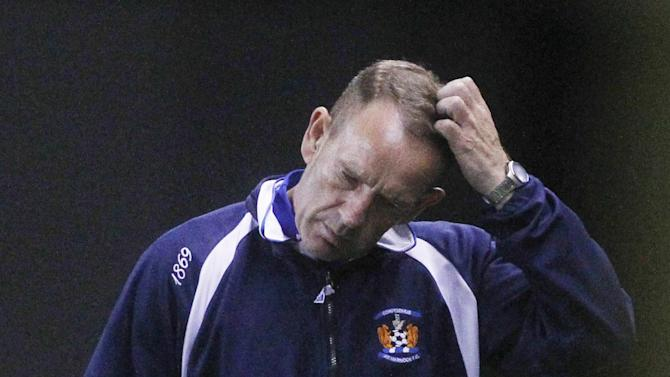 Kenny Shiels criticised his Kilmarnock team after the 0-0 draw at Ross County