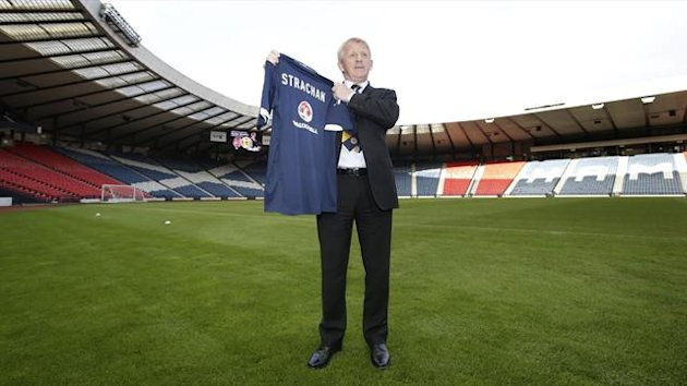 Gordon Strachan was unveiled as the new Scotland boss on Tuesday