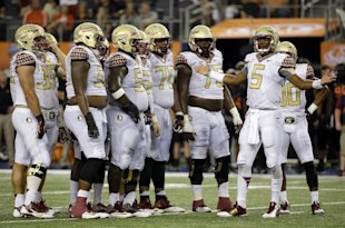 Jameis Winston and the Seminoles were out of sorts at times on Saturday. (AP)