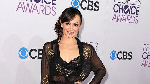 """WORST: Karina Smirnoff.  Who's ready for bedtime? Seems the """"Dancing With the Stars"""" pro is, judging from her sheer robe and bra ensemble."""