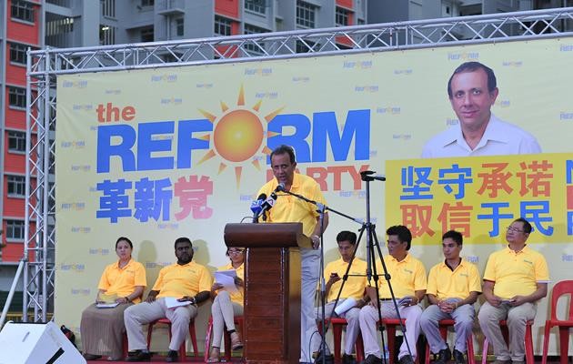 RP's Punggol East Kenneth Jeyaretnam - 'We are no motely crew!'