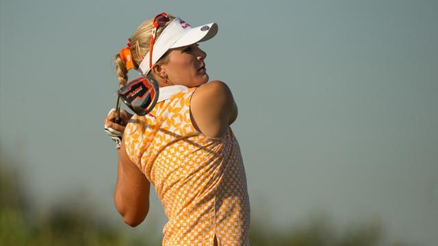 Golf - Teenager Thompson, veteran Pak lead Wie by one