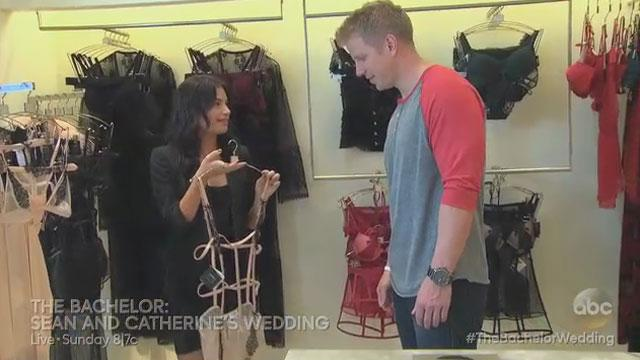 'Bachelor Wedding' Preview: Sean Buys Lingerie