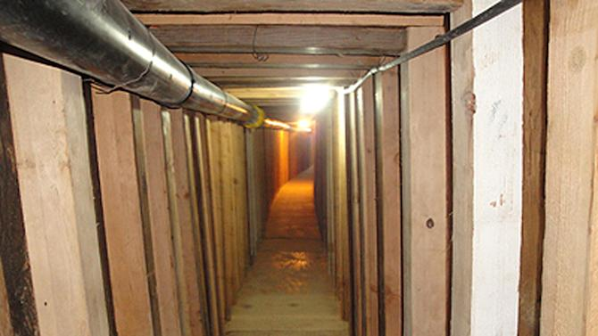 Drug tunnel