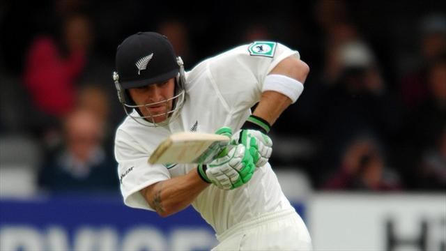 Cricket - McCullum ton keeps hosts fighting
