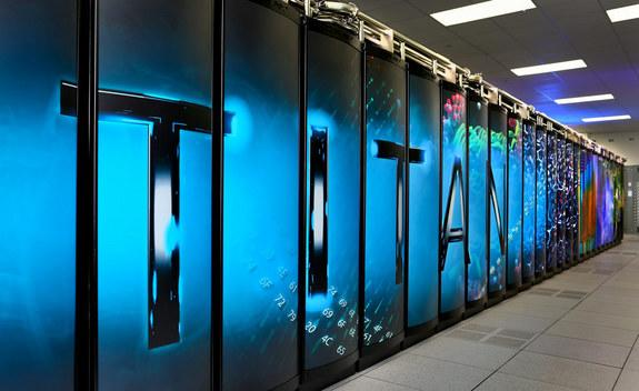 The Titan supercomputer at Oak Ridge National Laboratory was crowned the fastest in the world just a few weeks after its debut.