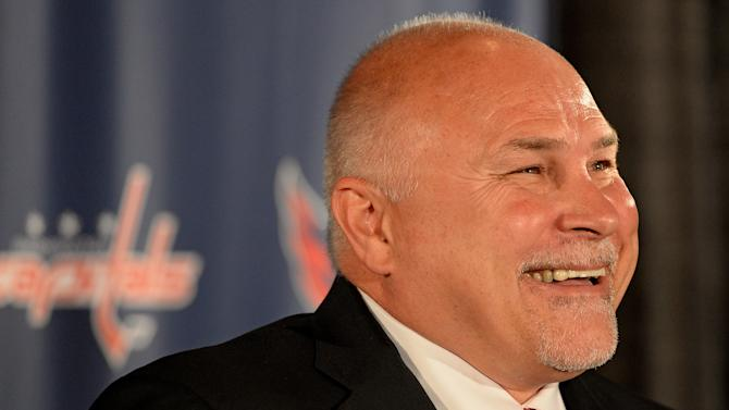 Washington Capitals Introduce General Manager Brian MacLellan And Coach Barry Trotz