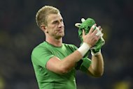 Manchester City goalkeeper Joe Hart pictured after the Champions League group D match against Borussia Dortmund in Dortmund, western Germany, on December 4, 2012. Hart has told his City team-mates to forget about their defeat to Sunderland and focus on getting their title ambitions back on track at Norwich on Saturday