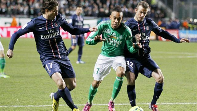 Ligue 1 - PSG squander two-goal lead to draw with Saint-Etienne