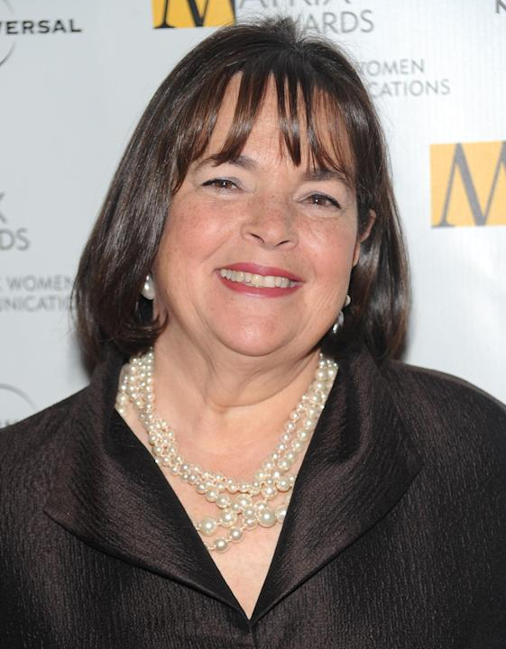 FILE - In this April 19, 2010, file photo, author and Food Network host Ina Garten attends the 2010 Matrix Awards presented by the New York Women in Communications at the Waldorf-Astoria Hotel in New