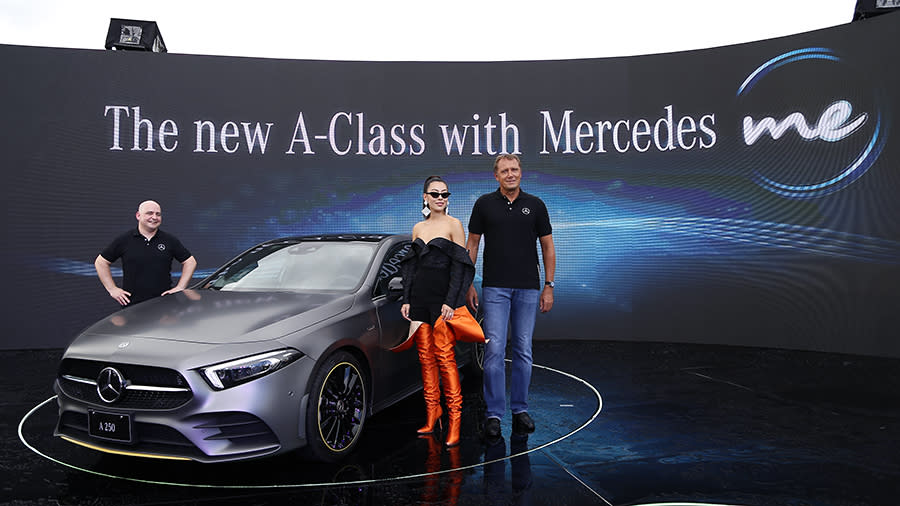 The New Mercedes-Benz A-Class正式發表