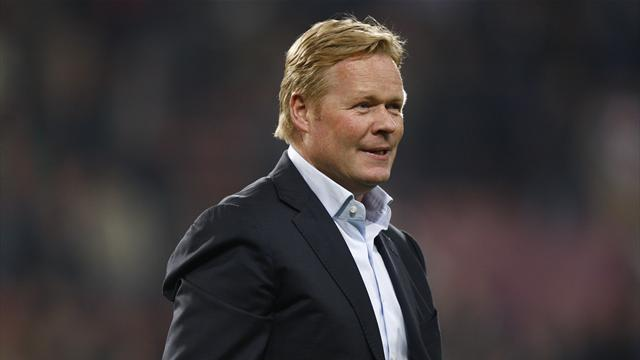 Liga - Koeman rules out Barca return