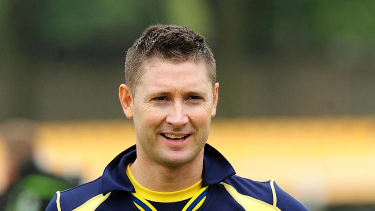 Michael Clarke, pictured, has denied there is a rift between him and Shane Watson