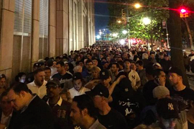 The security lines to get into Yankee Stadium are a debacle