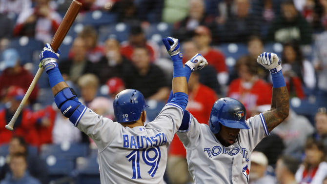 Happ stifles Phillies, Blue Jays win 3-0