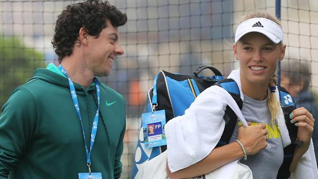 Tennis - Wozniacki gets engaged to McIlroy