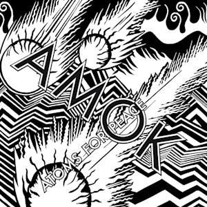 "This CD cover image released by XL Recordings shows ""Amok"" by Atoms for Peace. (AP Photo/XL Recordings)"