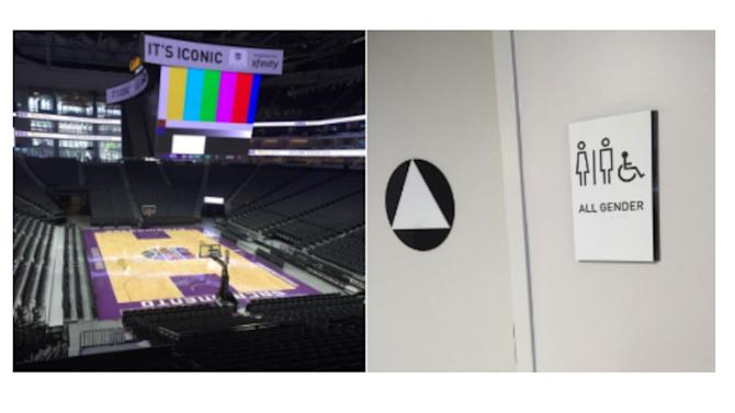 Kings' new arena includes transgender-friendly restrooms