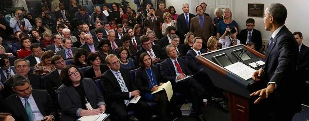 Obama answers only female reporters' questions