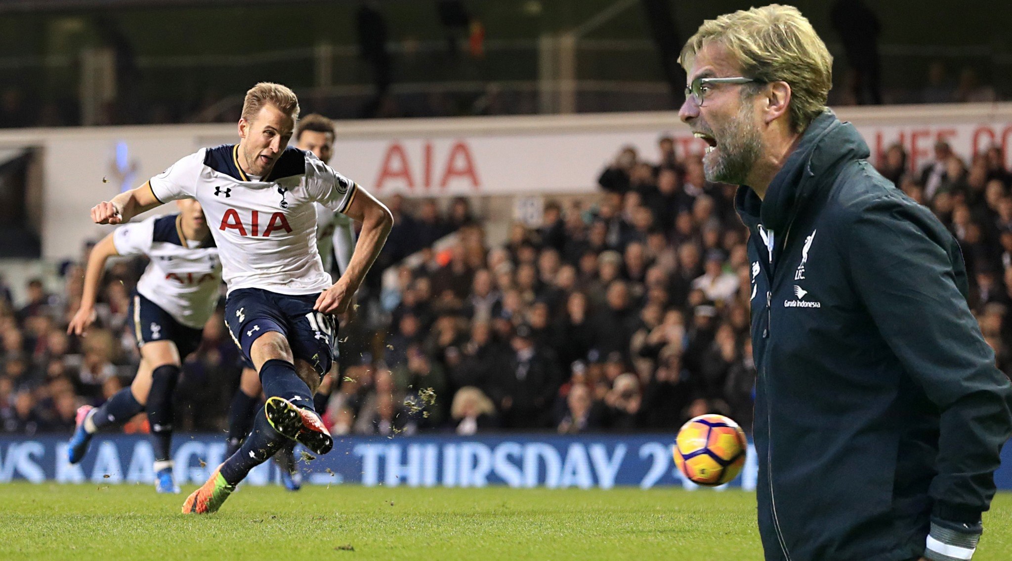 Harry Kane insists Spurs can hammer Liverpool's top chances at Anfield