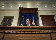 New Jersey Governor Chris Christie gives a news conference in Trenton January 9, 2014. REUTERS/Carlo Allegri