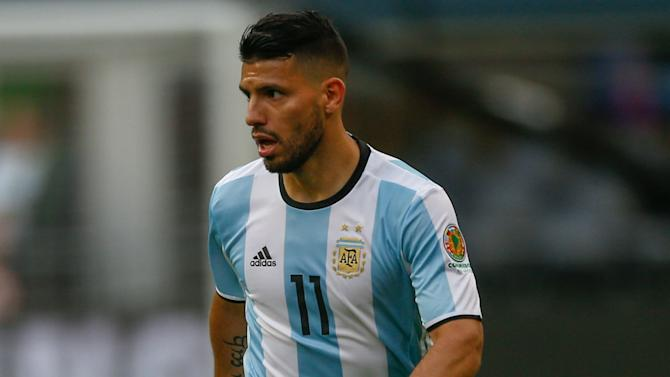 Injured Sergio Aguero pulls out of Argentina squad