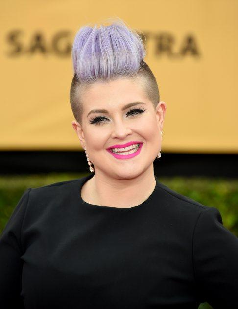 Kelly Osbourne attends the 21st Annual Screen Actors Guild Awards at The Shrine Auditorium on January 25, 2015 in Los Angeles -- Getty Images