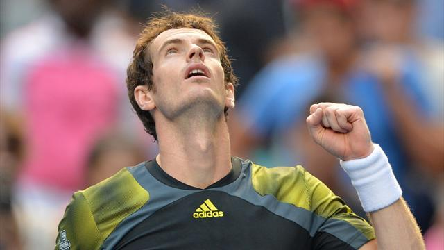 Australian Open - Murray reaches final with victory over Federer