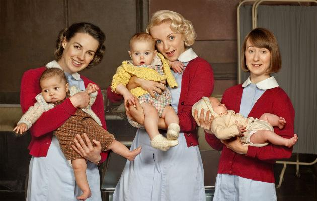 Call The Midwife... cited for an increase in midwifery applications (Copyright: BBC)