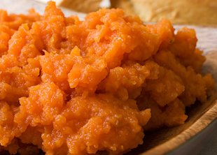 Chef Aaron McCargo Jr.'s Carrot and Ginger Mash
