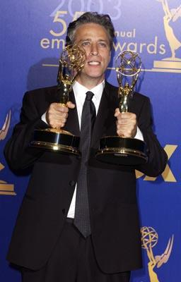 """Jon Stewart Outstanding Writing for a Variety, Music or Comedy Series """"The Daily Show"""" 55th Annual Emmy Awards - 9/21/2003"""