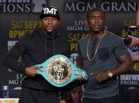 Boxing: Mayweather vs Berto-Press Conference