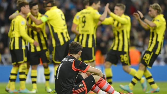Champions League - Ajax e Dortmund frenano City e Real: doppio 2-2