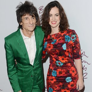 Rolling Stones' Ronnie Wood & Fiancee Sparks Rumours Of Secret Wedding With 'Matching Rings'