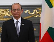 Prime Minister David Cameron has invited reformist Myanmar President Thein Sein -- pictured in April -- to visit Britain, a Downing Street spokeswoman said Thursday, in a further thawing of relations