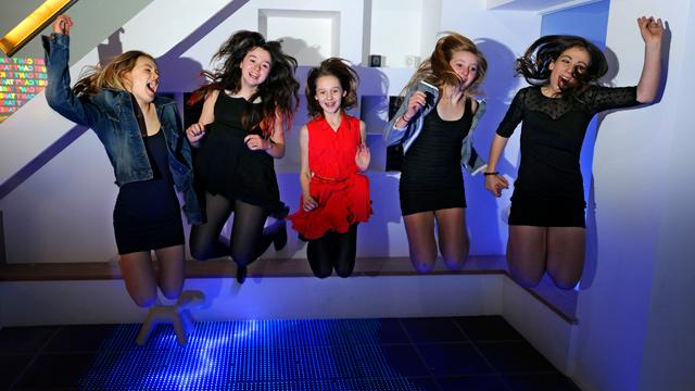 Parents Build Nightclub in Basement to Keep Kids Safe, Lights and DJ Booth Included