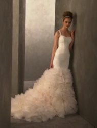 Another Kardashian dress lookalike from the Vera Wang for David's Bridal collection. Photo courtesy of E! News