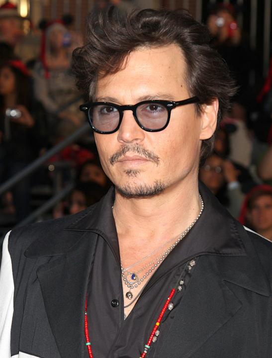 Johnny Depp photos: Even in this strange attire, we still definitely would.