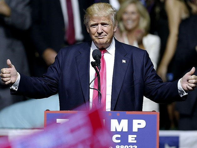 Republican presidential nominee Donald Trump. (Getty Images)