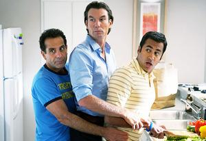 Tony Shalhoub, Jerry O'Connell and Kal Penn | Photo Credits: Cliff Lipson/CBS