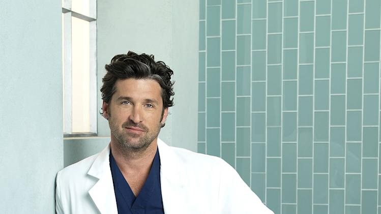 "Patrick Dempsey stars as Derek Shepherd in ""Grey's Anatomy."""