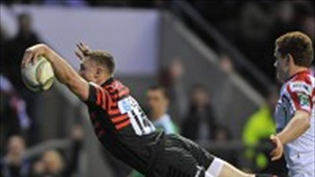 Rugby - Ashton helps Sarries into last four