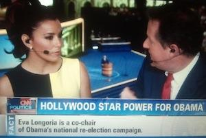 Eva Longoria Says She'll Be No Clint Eastwood At Democratic Convention