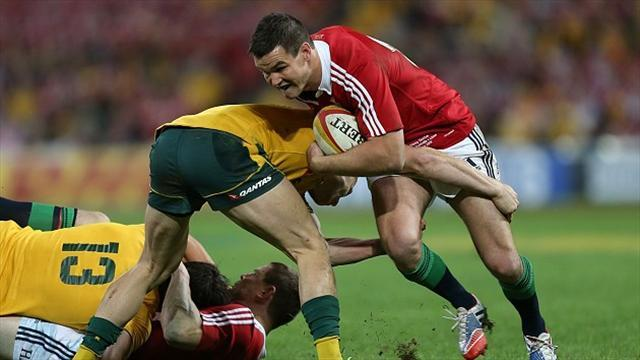 Rugby - Lions backs to go on the offensive in second test: Sexton