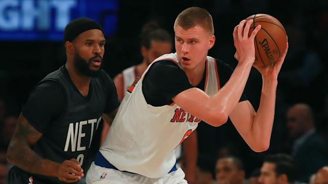 How Kristaps Porzingis is quickly becoming one of the NBA's toughest matchups