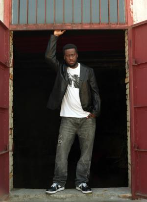 This undated image released by EMI shows jazz musician Robert Glasper. Glasper is performing this week at the Essence Music Festival in New Orleans. (AP Photo/EMI, Mike Schreiber)