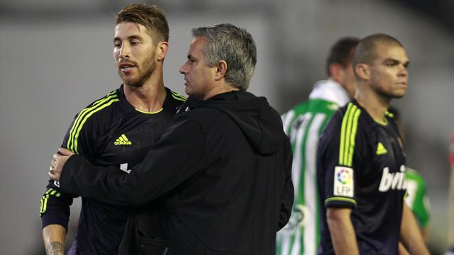 Liga - Mourinho's Madrid seek refuge in cup