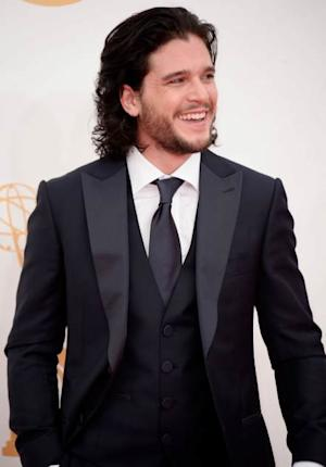 Kit Harington arrives at the 65th Annual Primetime Emmy Awards held at Nokia Theatre L.A. Live on September 22, 2013 in Los Angeles -- Getty Images