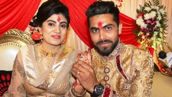 Ravindra Jadeja gets engaged to mechanical engineer Reeva Solanki